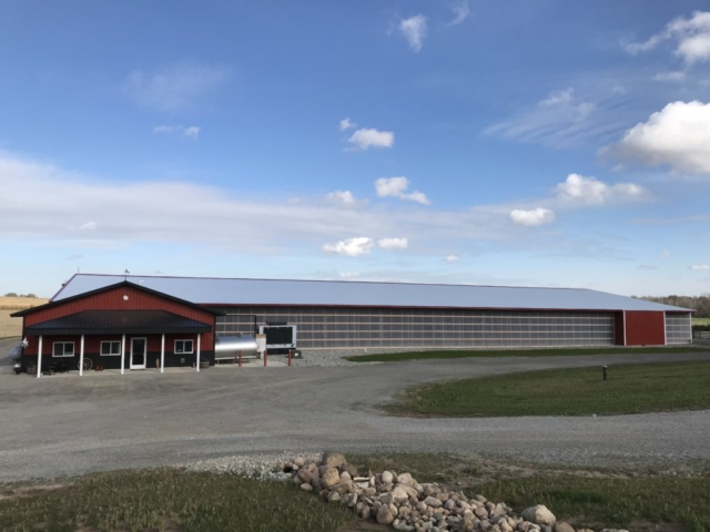 Agricultural Construction:  Robot Dairy:  Back 40 Acres, Pulaski, WI