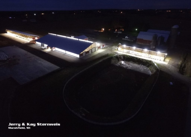 Agricultural Construction: Robot Dairy & Calf Barn:  Jerry & Kay Sternweis, Marshfield, WI