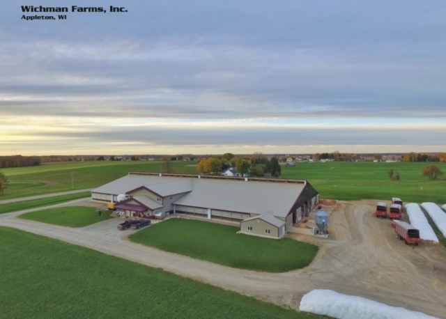 Agricultural Construction: Robot Dairy:  Wichman Farms, Inc., Appleton, WI