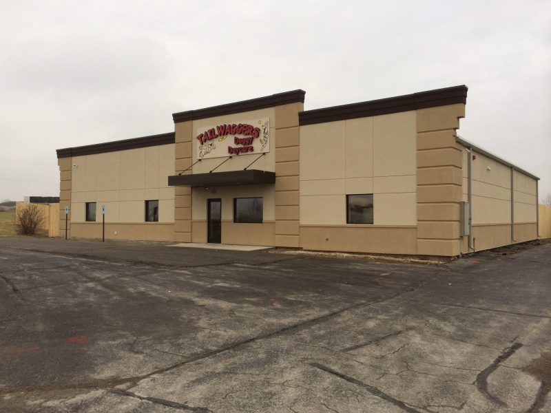 Commercial Construction:  Tailwaggers Doggy Daycare, De Pere, WI