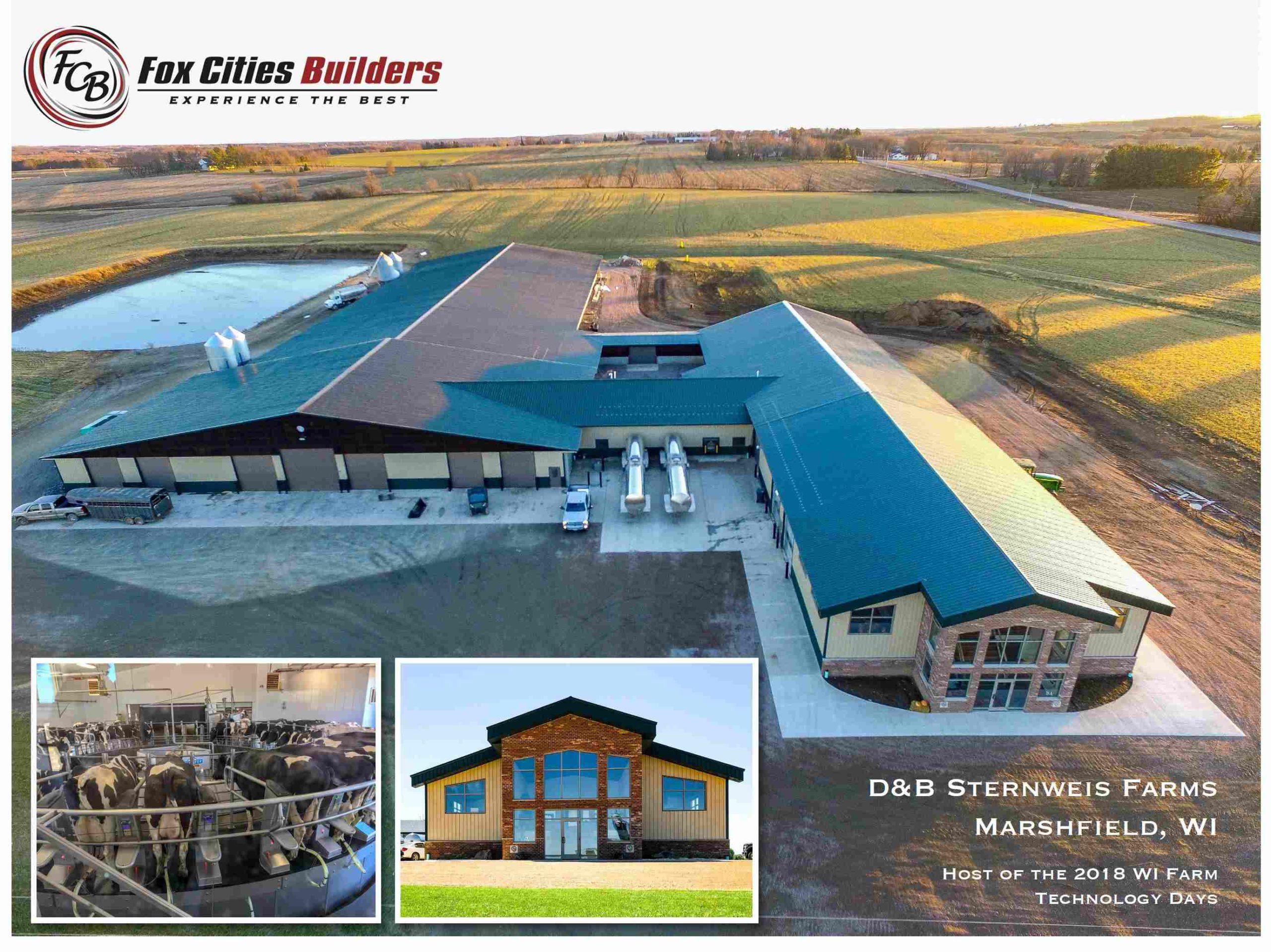 D&B Sternweis Farms, Inc. - Rotary Milking Parlor