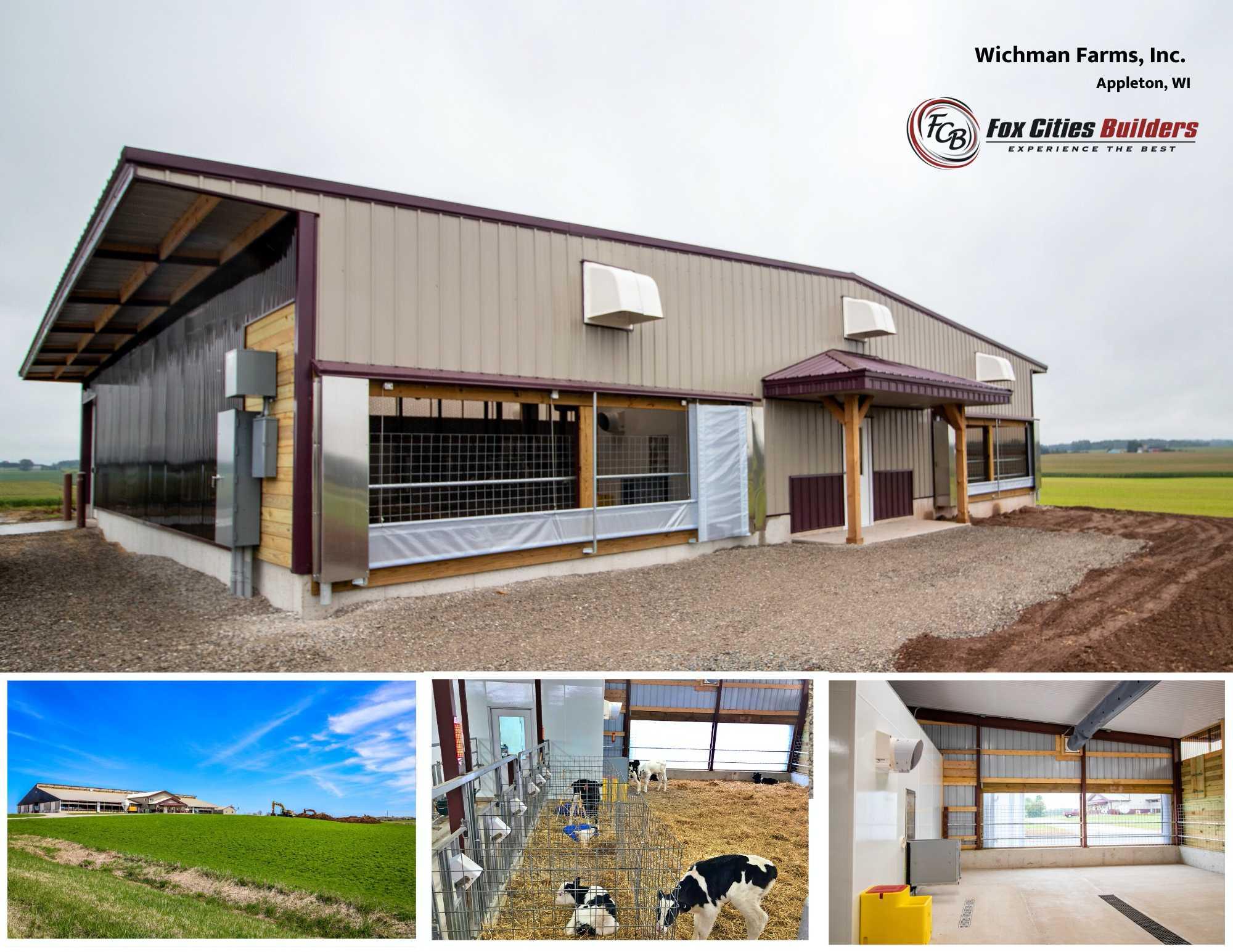 Wichman Farms - Robotic Calf Barn