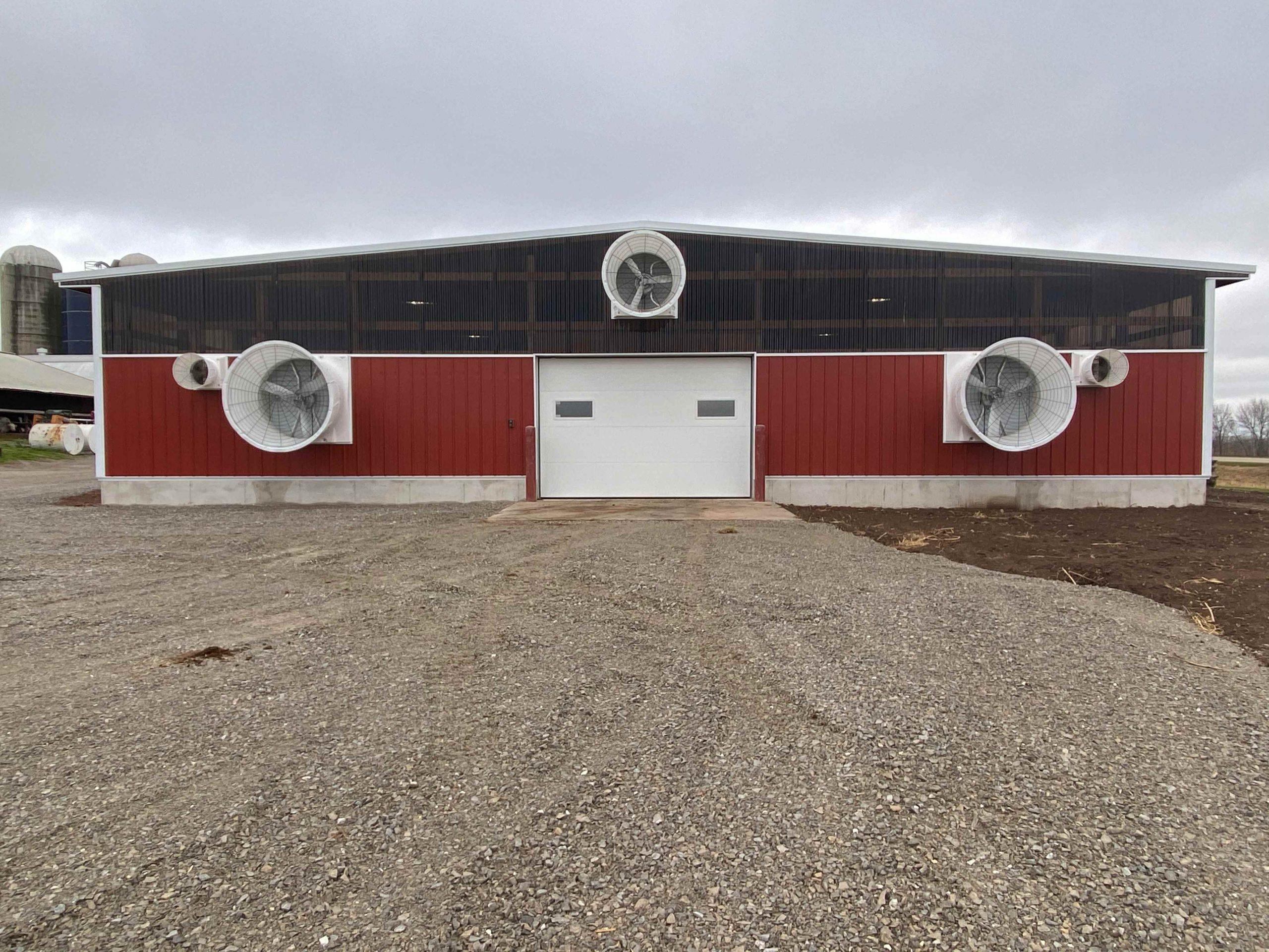 Wolf Farms - Robotic Calf Barn